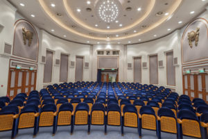 Auditorium utilizing building automation technology to lower energy costs