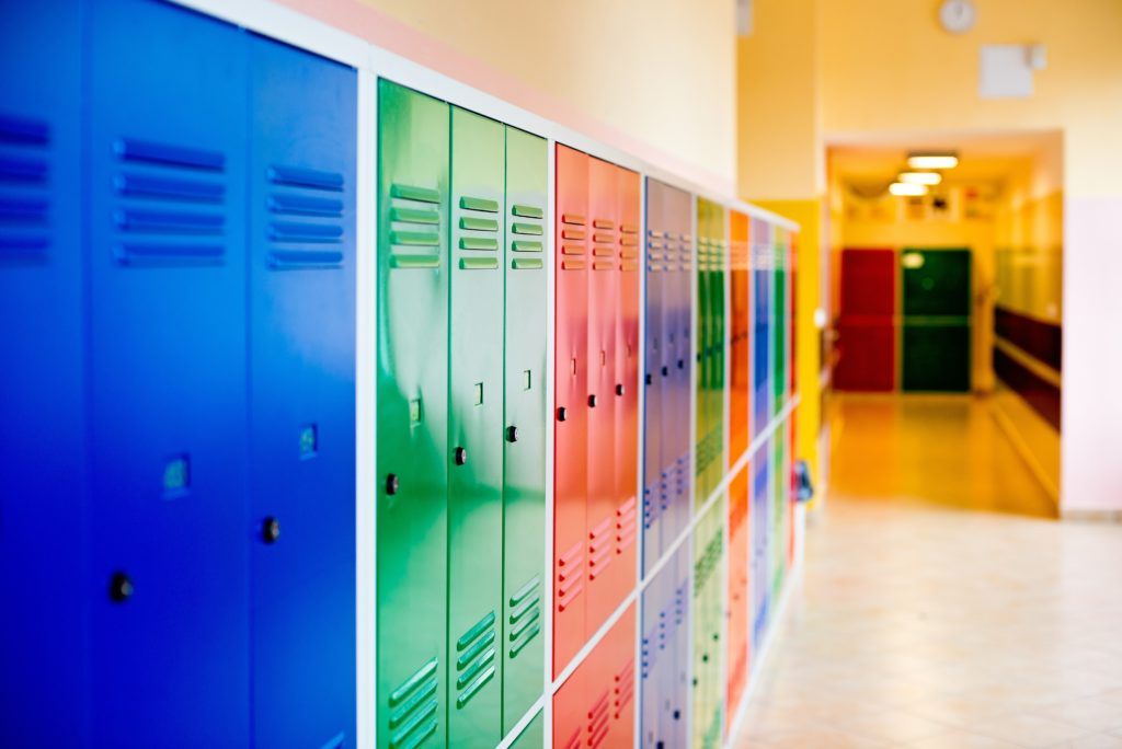 School utilizing building automation to reduce energy costs and increase security
