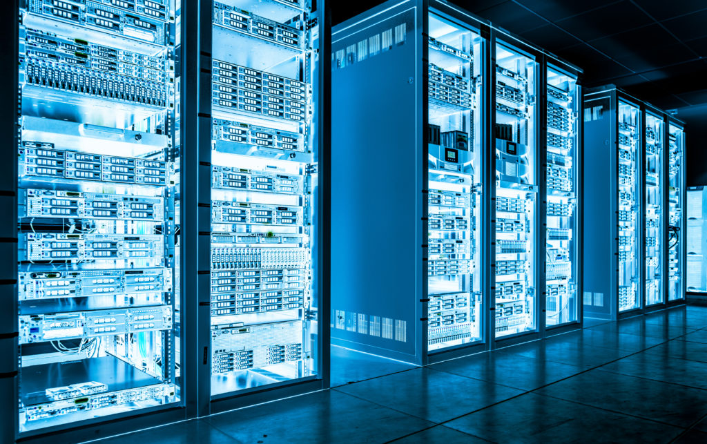 Data Center utilizing building automation to reduce energy costs