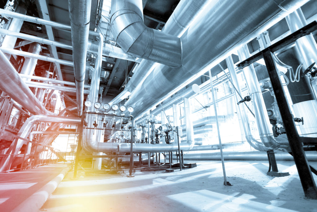 """Manufacturing facility that has been made """"smart"""" through building automation"""